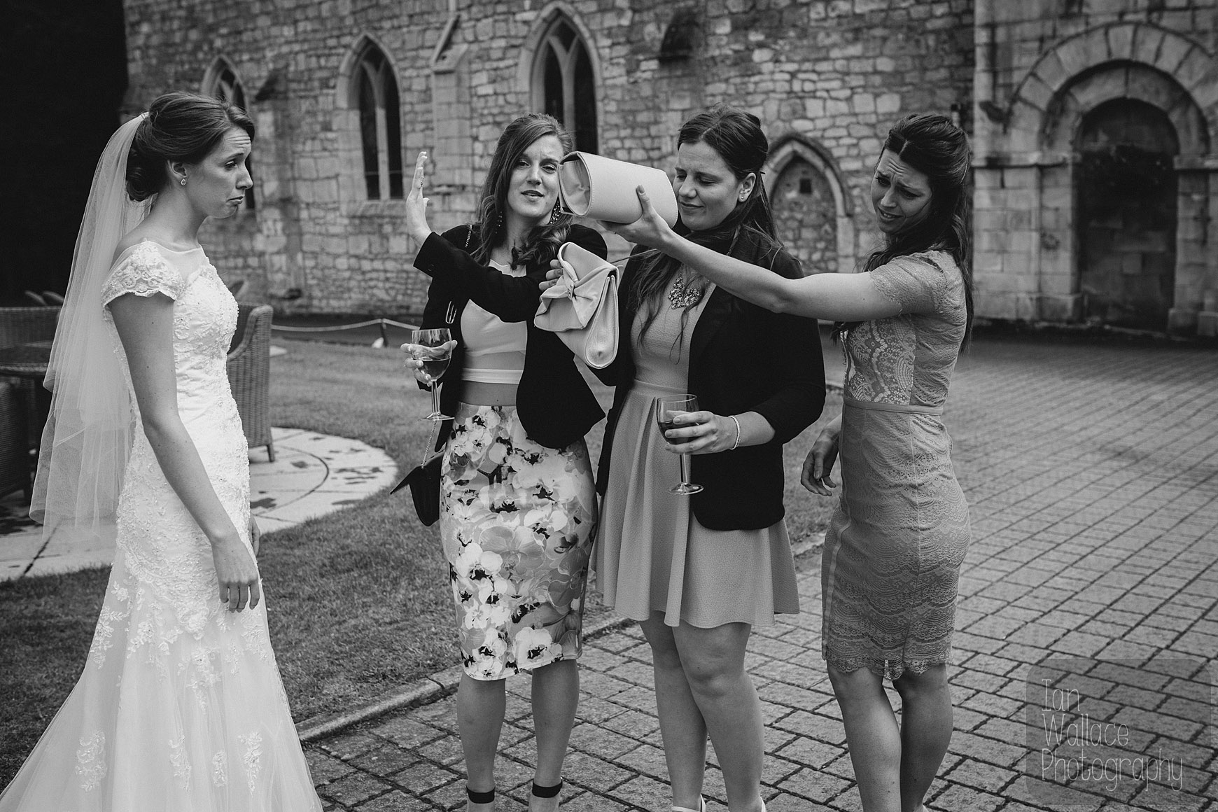 Brides friends disown her now that she's married. Sad times.