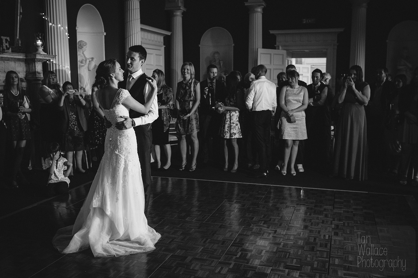 The first dance. Everyone watches. Not an iPad in sight.