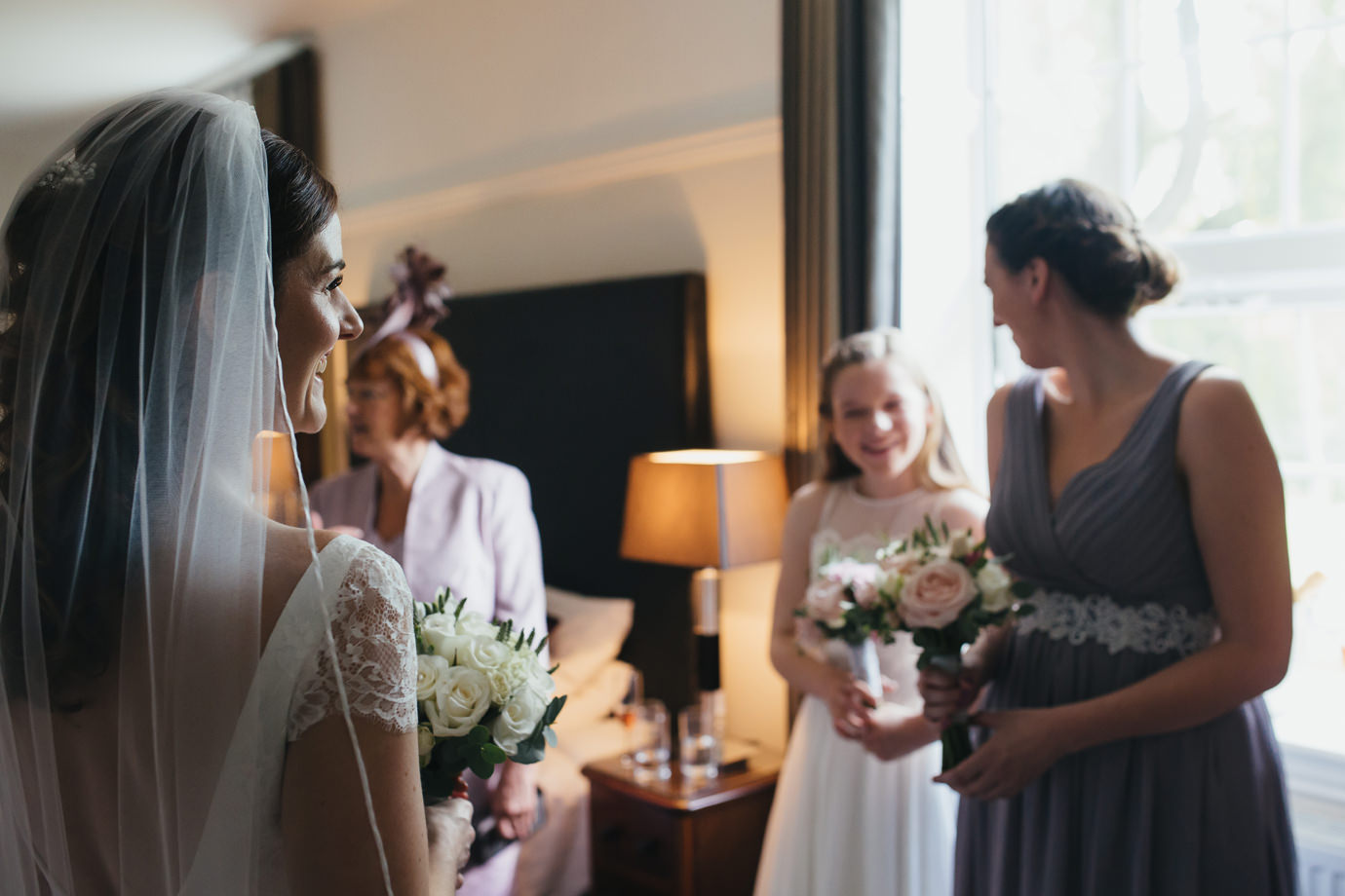 Reportage wedding photography at Hemswell court