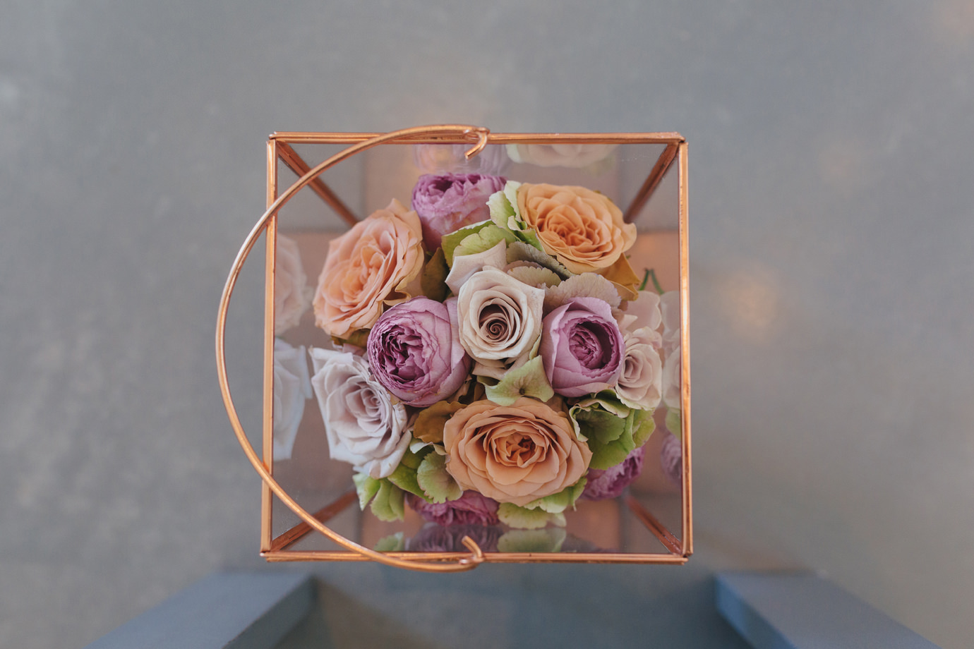 Bespoke autumnal wedding flowers