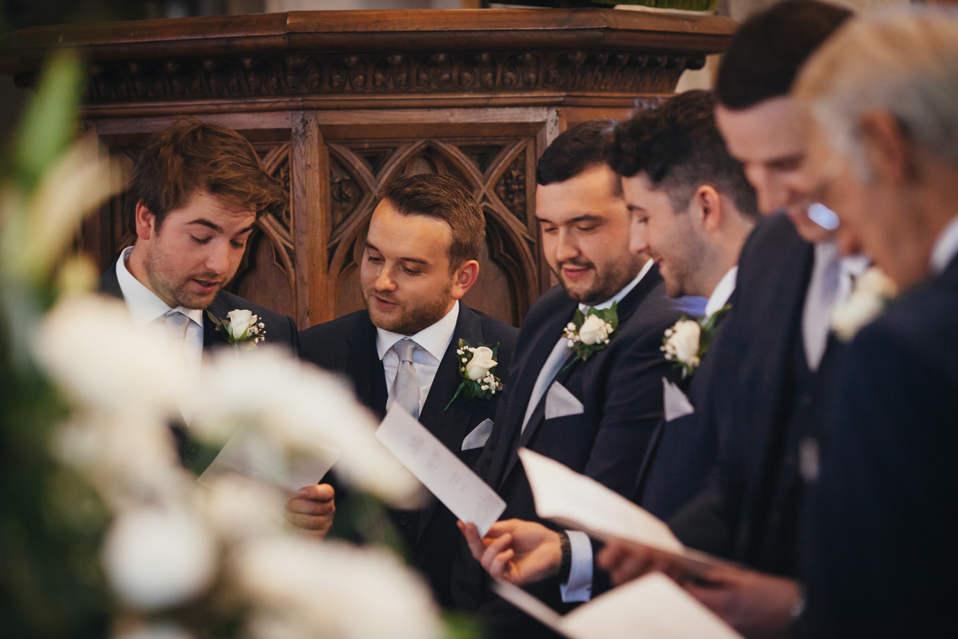 Grooms party - East Riding wedding photography