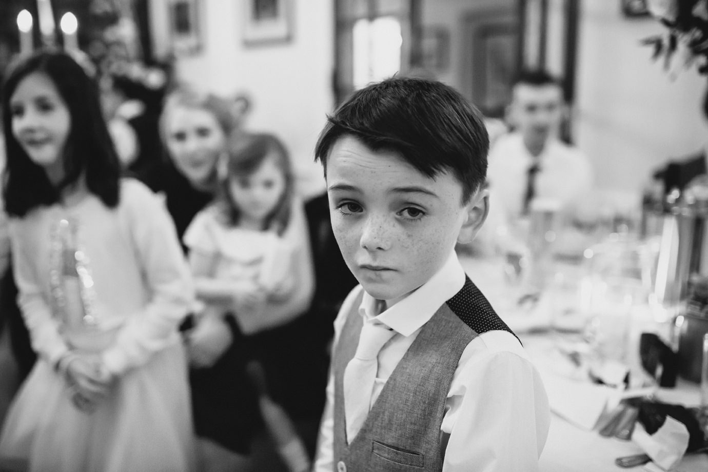 Documentary wedding photography Hemswell Court Lincolnshire