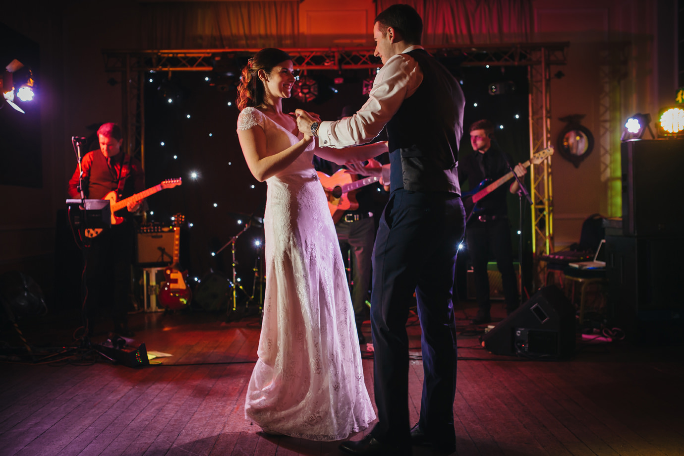 First dance bride and groom Hemswell court