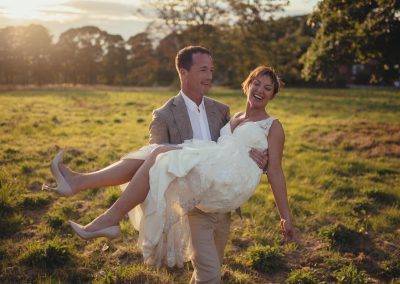 Luci and Phil – A Cheshire Marquee wedding