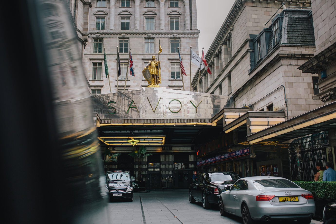 Savoy hotel, documentary wedding photography