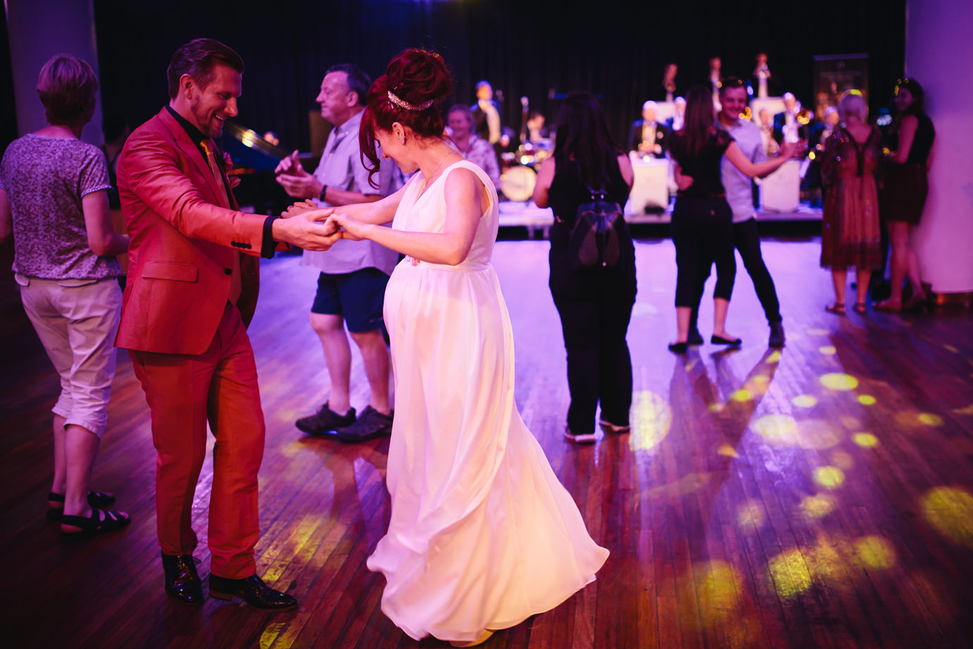 Bride and Groom, dancing, Festival of Love, Royal Festival Hall documentary wedding photography