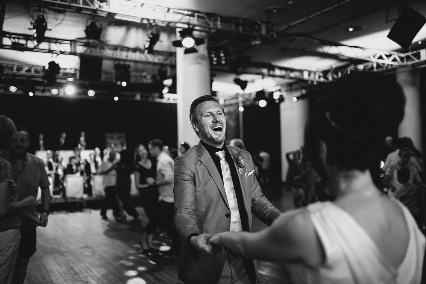 Bride and Groom, first dance, London wedding photography