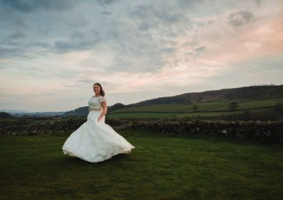 Sam and Jemma – North Yorkshire wedding photography at Taitlands