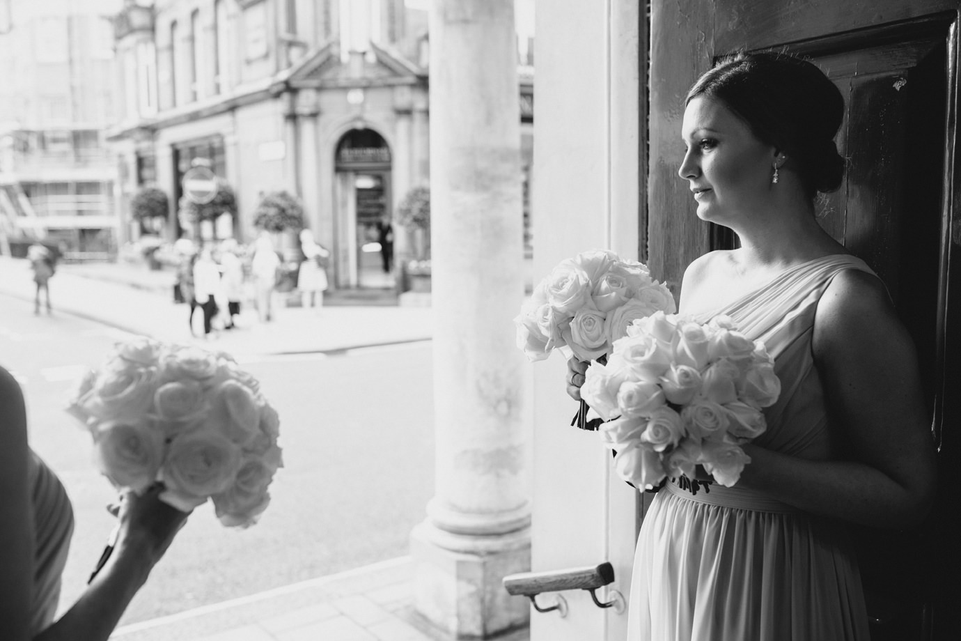 Bridesmaids in waiting - documentary wedding photography