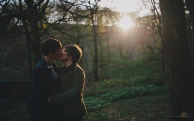 Hardcastle Crags – Pre-wedding shoot with Becca and Naomi